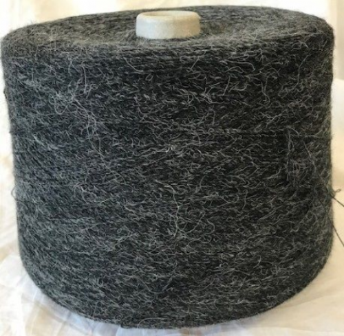 High Bulk Yarn 1/13s - Charcoal Hair - 1500g